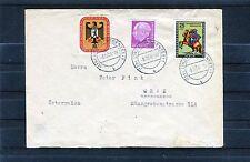 Berlin Michel Nr. 158 MiF auf Bedarfsbrief - b0341