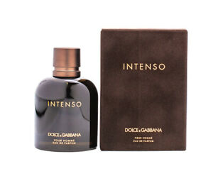 Dolce & Gabbana Intenso Pour Homme 4.2 oz EDP for Men New In Box