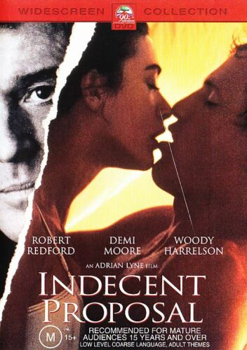 1 of 1 - INDECENT PROPOSAL DVD DEMI MOORE WOODY HARRELSON ***