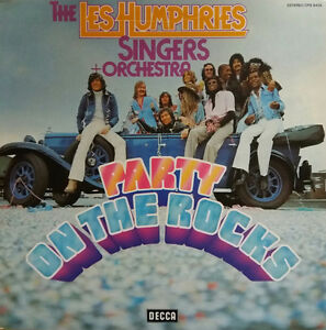 The-Les-Humphries-Singers-Orchestra-Party-On-The-Rocks-LP-VINYL-1976
