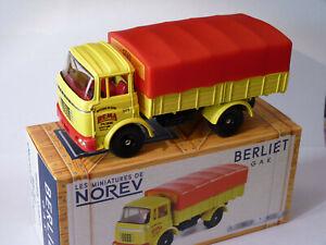 BERLIET-GAK-Bache-Moutarde-de-Dijon-au-1-43-de-norev-classics-CL6911