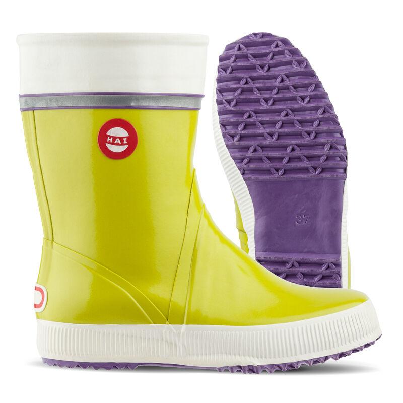 Nokian Footwear botas de goma tiburón, Lime triColor tamaños de 40, 41, 42