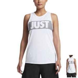 b070da3a30a4 Nike Women s Just Do It Legend Tomboy Training Tank Top S M L White ...