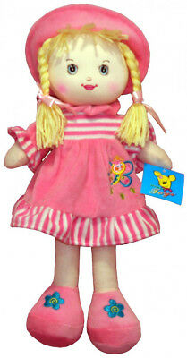Yt Pupazzi Rosa 35cm Reliable Performance Evelyn Bambola Di Pezza
