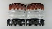 6 Pcs Hair Comb 5 Inches The Color Pick Up.