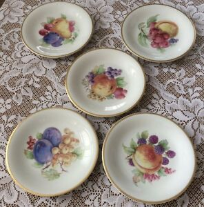 Image is loading Fruit-Dessert-Salad-Plates-Made-in-Germany-Set- : dinnerware made in germany - pezcame.com
