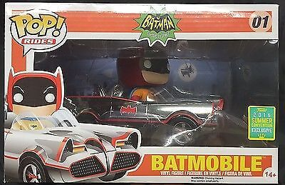 Funko POP  Batmobile 1966 Chrome SDCC 2016 Summer Convention Exclusive  01