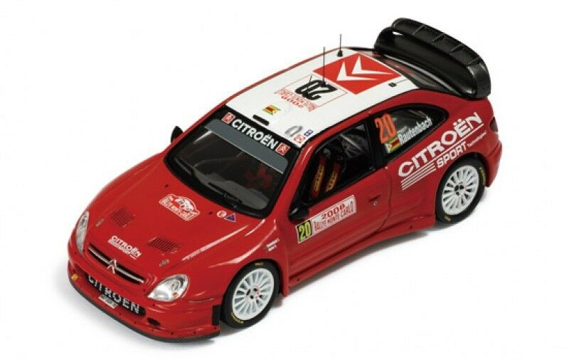 1 43 CITROEN XSARA WRC RALLYE MONTE CARLO 2008 C. RAUTENBACH