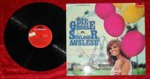 LP Große Polydor Schlager Auslese (Polydor H 821) Clubsonderauflage D 1966