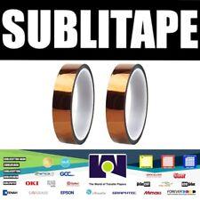 Heat Press Tape Dye Sublimation For Mugs 3d Printer 20mmx33m 100ft 2 Rolls