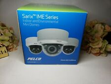 Pelco Ime322 1rs 3 Mp Sarix Enhanced 3mp Indoor Dome Camera With 9 22mm Lens New