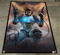 Captain Future Banner Comic Book Cartoon Capitan Futuro Caricaturas Poster