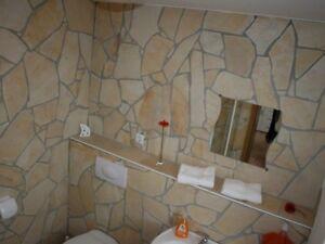 Naturstein Verblender Wand Polygonalplatten Creme Beige Gelb Toscana 5 7mm Ebay