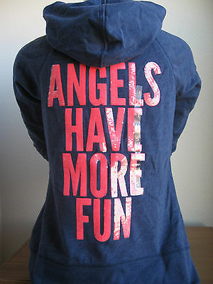 VICTORIA'S SECRET Supermodel Essentials Funnel Neck Hoodie Jacket ANGEL BLING