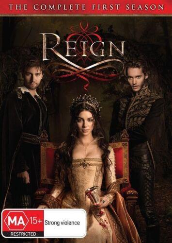 1 of 1 - Reign Season 1 (DVD, 5-Disc Set) NEW & SEALED Genuine Aussie Release R4