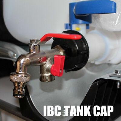 """3 größe IBC Tank S60x6 1//2"""" 3//4/"""" 1/"""" Auslaufhahn Regenwassertank Adapter Anschlus"""