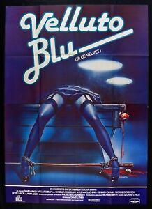 Manifesto Velvet Blu David Lynch Blue Velvet Rossellini Thriller Cinema M300