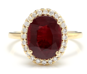 5-80-Carats-Red-Ruby-and-Natural-Diamond-14K-Solid-Yellow-Gold-Ring
