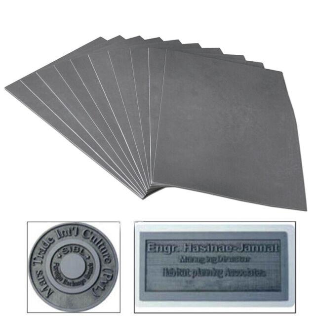 Lasergummi Stempelgummi 2,3 mm Graviermaterial für Lasergraviermaschine Stempel
