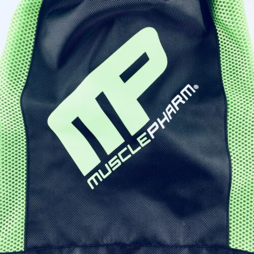 2 MUSCLE PHARM Cinch String Travel Hiking Gym Tote//Sack multi-use bag pack NEW
