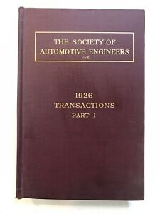 Vintage-S-A-E-HandBook-1926-Edition-Society-of-Automotive-Engineers-book