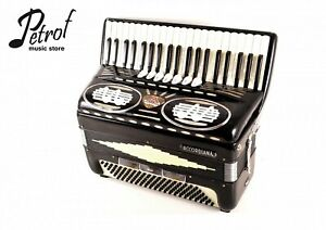 Italian Top Piano Accordion Accordiana by Excelsior Model 310 - 120 bass,10 reg.