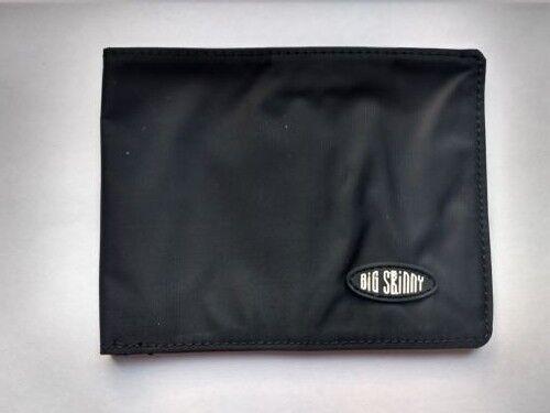Authentic Super Stretch//Super Skinny Bi-fold Wallet Black