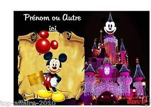 Plaque-de-porte-en-sur-bois-personnalisee-Mickey-N-51-avec-prenom-ou-texte