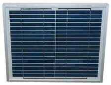 40 Watt Solar Panel For Solar Fence Or Dual Chargers 5 Yr Warranty W Cable