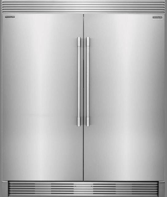 Frigidaire PRO Stainless FRIDGE/Freezer Combo FPRU19F8RF FPFU19F8RF NO TRIM KIT