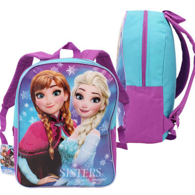 15\' Backpack Disney Frozen Anna Elsa Kids