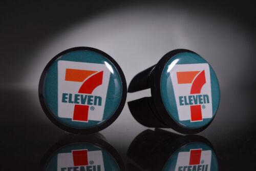 Eddy Merckx 7-eleven team Handlebar End Plugs endcaps black new Bar End Caps