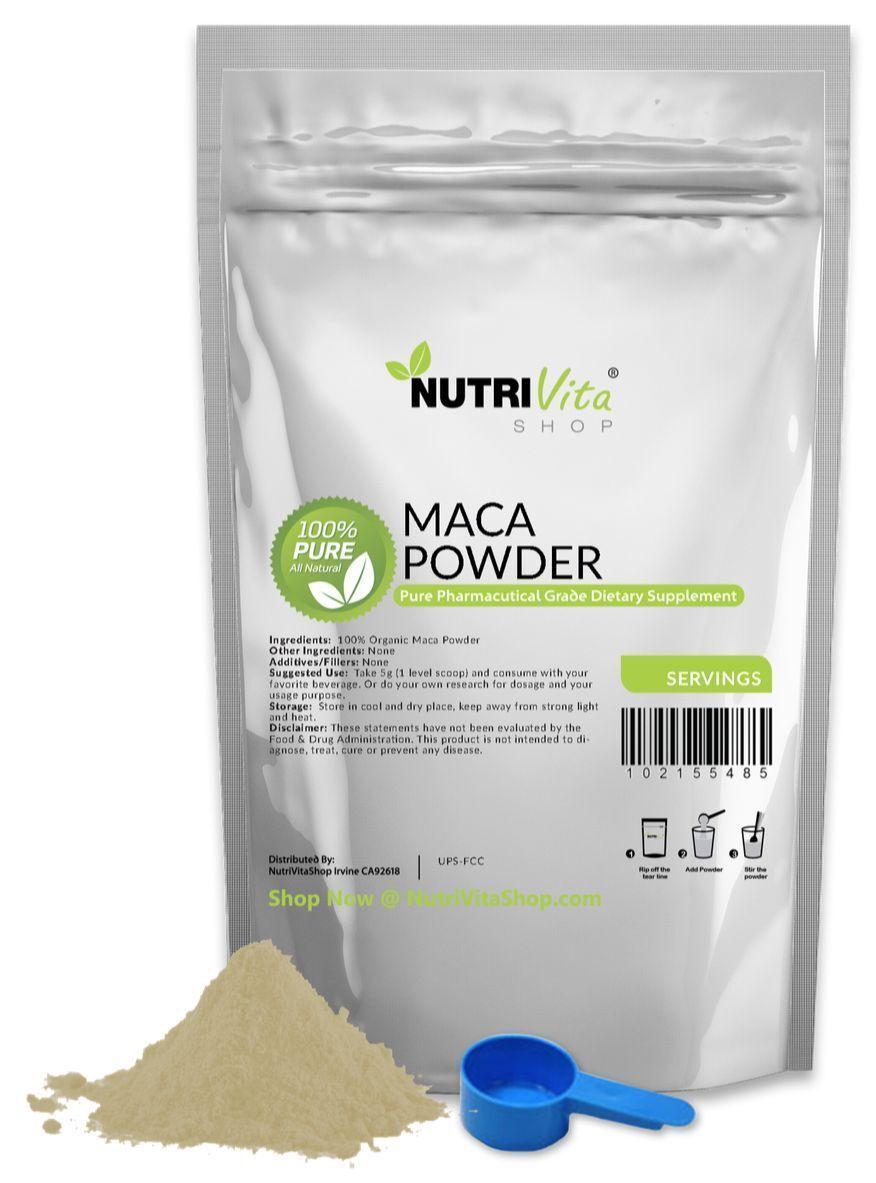 1500g (3.3lb) PURE RAW MACA POWDER 100% 100% POWDER ORGANIC PHARMACEUTICAL GRADE c8dca4