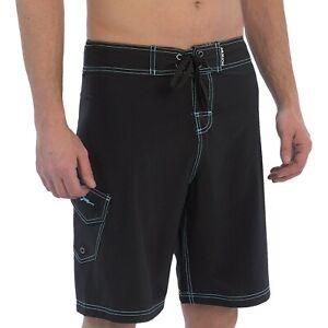 Sea Shark Fish Logo Men's Quick Dry Beach Board Shorts ... |Shark Board Shorts For Men