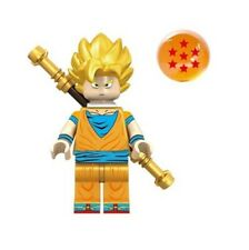 Custom Minifigure Gashapon MOC LEGO Vegeta Dragonball DBS Nuovo in Blister