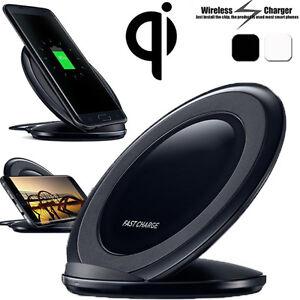 Qi-Sans-Fils-Rapide-Chargeur-Pied-Dock-Support-Pour-Samsung-S6-S7-S7-Edge