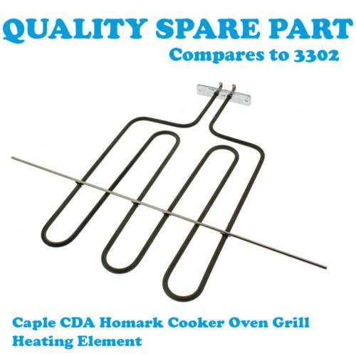 Four Grill Chauffage Element 2500 W Caple C222BK C222W simple C223F//SS pour Cuisinière