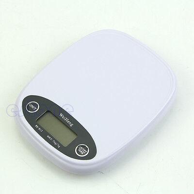 1g/7Kg LCD Digital Postal Kitchen Scale Food Diet Weight Balance g lb Backlight