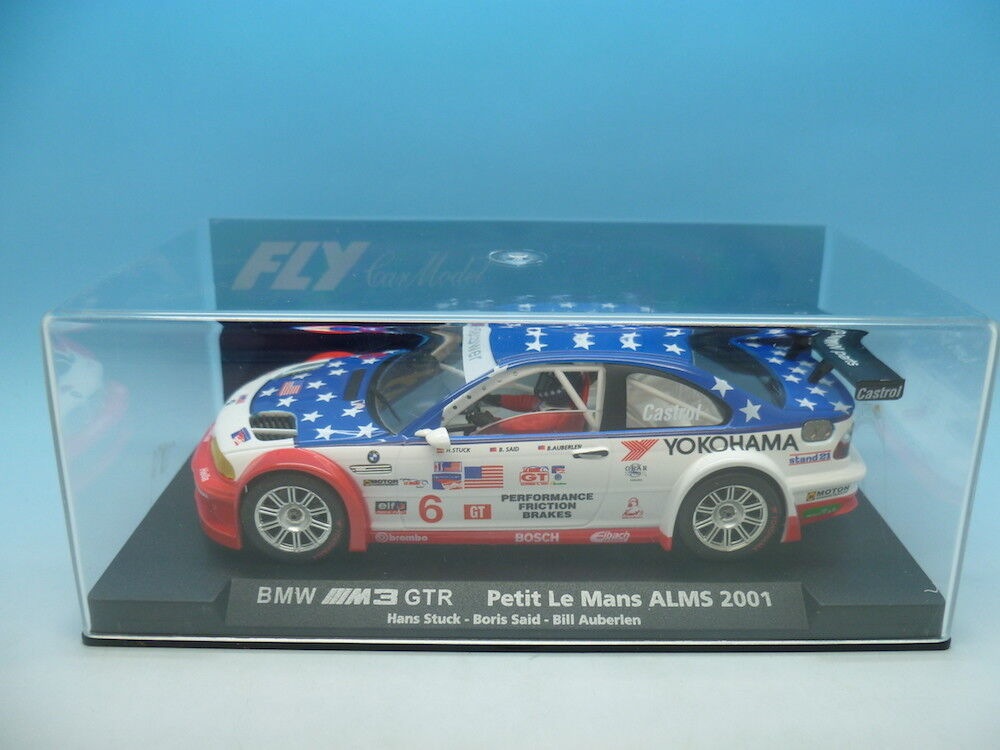 Fly 88049 BMW M3 GTR Petil Le Mans ALMS 2001, mint unused