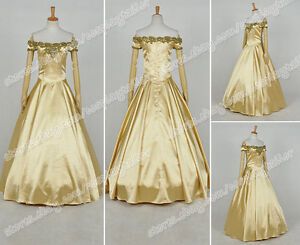 Once Upon A Time Season 3 Cosplay Belle Costume Formal ...