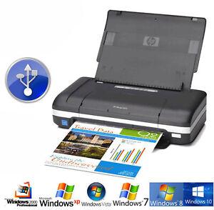 Small-amp-Mobile-USB-Reisedrucker-Printer-HP-Deskjet-470-Network-Battery-4800dpi