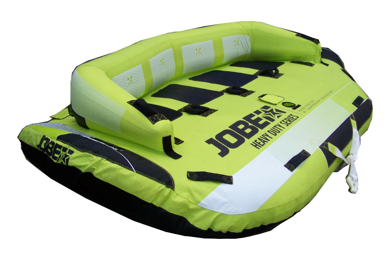 Jobe Tubo Sonar Heavy Duty 4Per Sport D'Acqua Barca Motore divertiuominitotube G1911