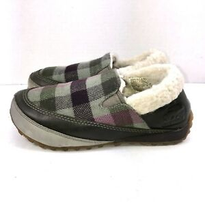 Sorel Mackenzie Wool Sherpa Snow Slip