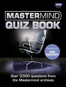 The Mastermind Quiz Book by Morgale Richard  Paperback Book  9781849903967 - Leicester, United Kingdom - The Mastermind Quiz Book by Morgale Richard  Paperback Book  9781849903967 - Leicester, United Kingdom