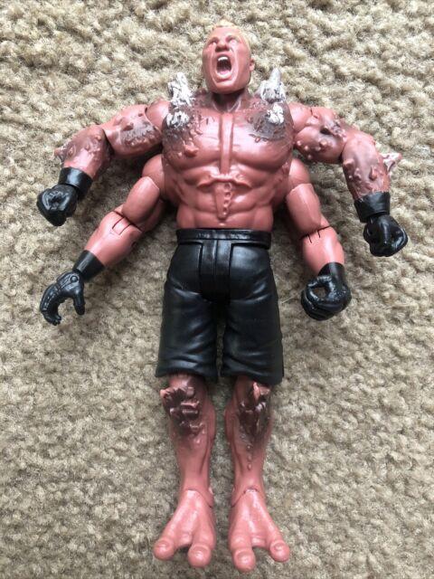WWE Wrestling Mattel Basic Monsters Series Brock Lesnar Figure Goro Style