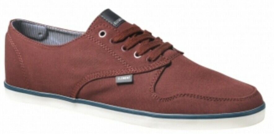 Elemento Zapatos Topacio B Burdeos Zapato en Color Burdeos Hombres Nuevos