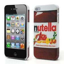 Superbe Coque Iphone 4 et  4S  Nutella Housse Bumper Case I phone nutela Choco