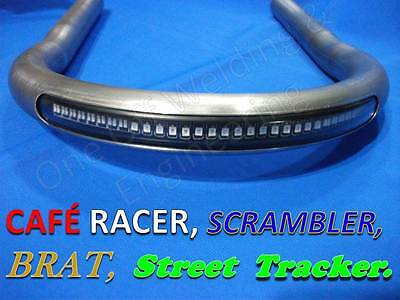 Frame Loop Hoop Tube with Kick-Up and LED Brake  Light Cafe Racer Brat Scrambler