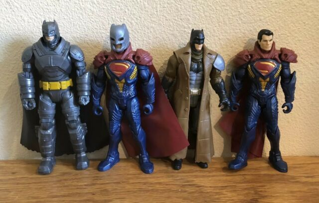 Batman vs. Superman Action Figure Lot Of 4 DC F1