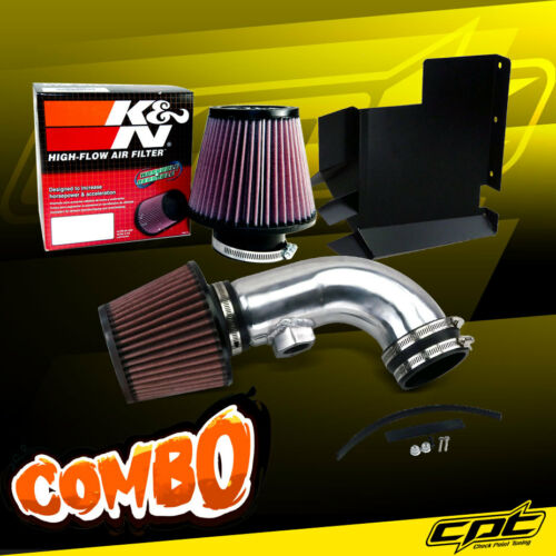 K/&N Air Filter 08-13 BMW 128i E82//E88 3.0L 6cyl Polish Cold Air Intake